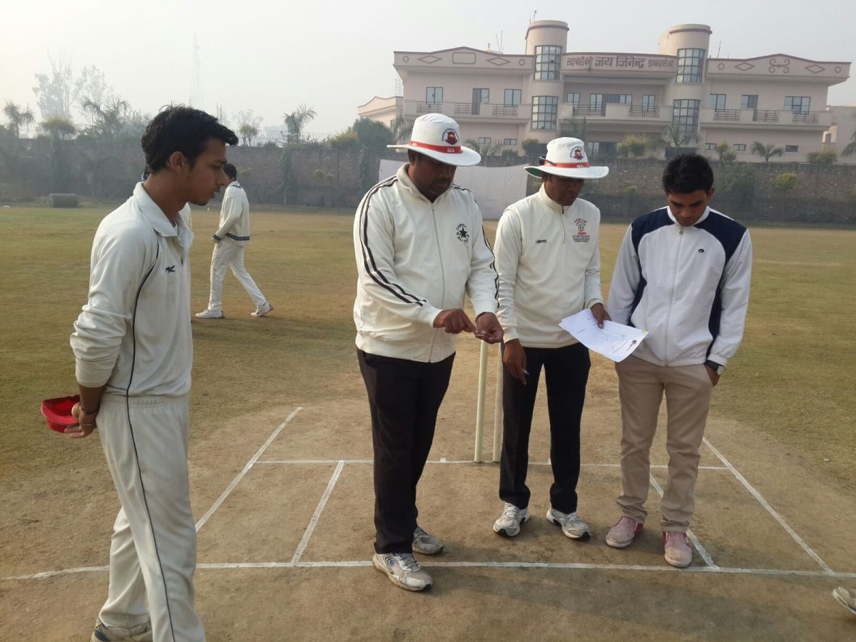 Vishesh Sharma's all-round show guides Green Field Academy to victory in KOOH Sports U-16 Tournament