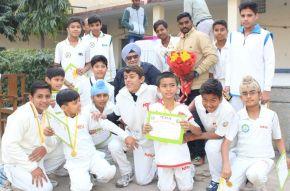 MRV Academy beats PNC Academy to emerge champions of TCA Cricket Tournament; Ankit Chauhan adjudged player of thetournament