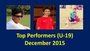 Specials: Delhi's Top 5 U-19 Performances in December2015