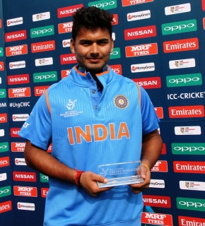 Rishab Pant smashes fastest U-19 half century as India decimates Nepal in ICC U-19 World Cup