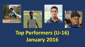 Specials: Top 5 performances of the month: U-16Category