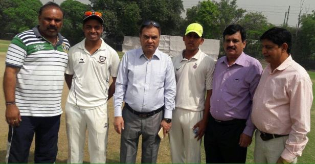 in the TYCA cricket inaguration Sanjay Bhardwaj,Ankit Bhardwaj, (Chief Gurst Ashok Mehra),Tishant Dabla, Arun Mahajan and Naresh Sharma gen.sec.TYCA