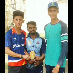 Keshav Dabas smashes double century in Bansal Sports U-16 Tourament