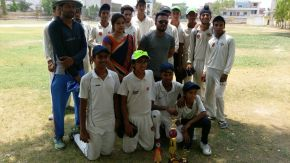 Gyanti Academy beats Maulana Azad Club by 5 wickets to lift Bansal Sports U-16 Tournament title; Prince Mehra claims 7 wickets in the final