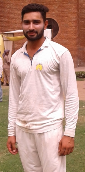 Deepak Khatri smashes 6 sixes in an over enroute his 214 runs knock in Hot Weather Cricket Tournament