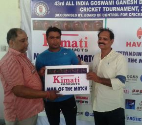 Sultan Ansari shines as CWC beats Mata Ved Solanki Club in Goswami Ganesh Dutt Memorial
