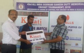 Sporting Club beats Collage Sports by 4 wickets; enters S-F of Goswami Ganesh Dutt Memorial