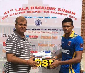 ONGC beats Players Academy to enter Q-F of Raghubir Singh Hot Weather Tournament; Navdeep Sainishines