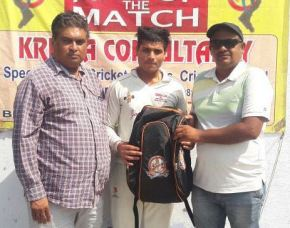 Ajmal Khan Club beats Telefunken Club by 7 wickets in TYCA U-19 Tournament; Nikhil Gautam shines with bat