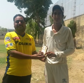 Prince Mehra's unbeaten 114 guides Gyanti Academy to the final of Bansal Sports U-16 Tournament