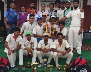 Tripathi Group beats Lodhi Road Academy to claim title; Saqlain Haidershines